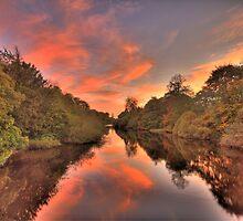 Candyfloss sunset ! by Arceye
