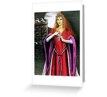 Mystical lady Greeting Card