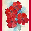 iPhone Cover - Hibiscus by Maree Clarkson