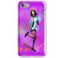 Fun Girl Pink iPhone Case/Skin