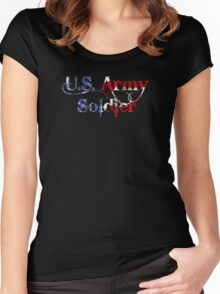 U.S. Army Soldier Women's Fitted Scoop T-Shirt