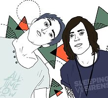 Back To The Future Hearts with Alex and Kellin by itsgisellepr