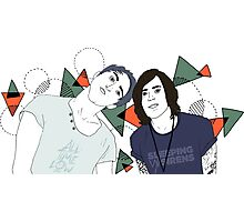 Back To The Future Hearts with Alex and Kellin Photographic Print