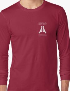 Argus Security: Protection Guaranteed Long Sleeve T-Shirt