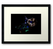 The Sequins of Events Framed Print