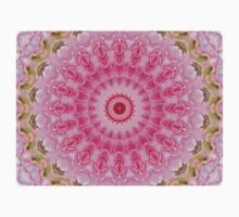 Pink Garden - Floral Kaleidoscope Baby Tee