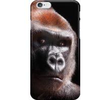 Kouillou ....  Western Lowland Gorilla iPhone Case/Skin