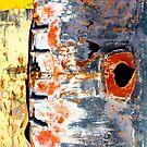 Abstract Graffiti Car Bonnet by Mark Higgins