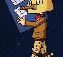Halloween Doctor Who Sticker