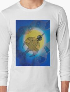 Aboriginal Bird Long Sleeve T-Shirt
