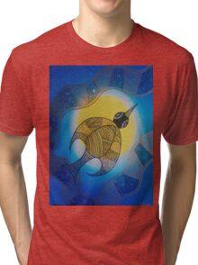 Aboriginal Bird Tri-blend T-Shirt