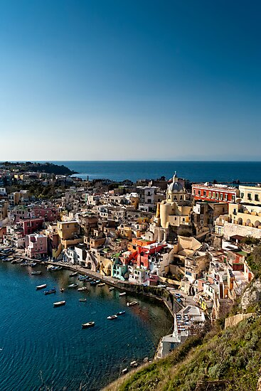 Corricella from above by PhotosOnTheRoad