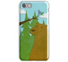 bear and friend  iPhone Case/Skin