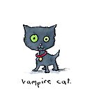 Vampire cat by Bethan Matthews