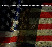 No Unwounded Soldiers by artisandelimage