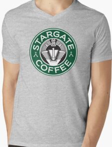 Stargate sg1 Coffee Mens V-Neck T-Shirt