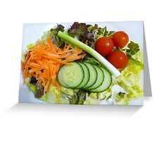 The Healthy Choice! Greeting Card