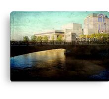 Milwaukee in the evening © Canvas Print