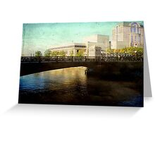 Milwaukee in the evening © Greeting Card