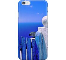 Greek blue gate - iPhone case iPhone Case/Skin