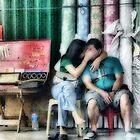 Secret kiss by Cara Gallardo Weil