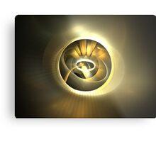 Solar Ellipse Metal Print