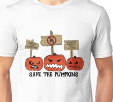 SAVE THE PUMPKINS Unisex T-Shirt