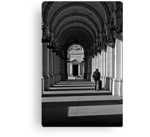 On Time Canvas Print