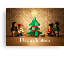 Family Christmas Canvas Print