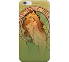 Peach Nouveau (realistic) IPHONE CASE iPhone Case/Skin