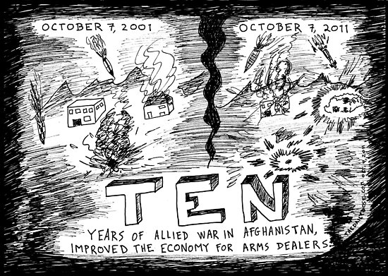 The Long War on terror in Afghanistan by bubbleicious