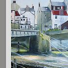 Staithes Bridge iphone cover by Sue Nichol