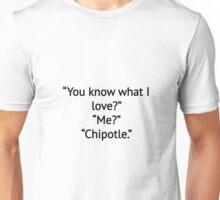 Chipotle Love <3 Unisex T-Shirt