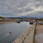 Yorkshire: Whitby Harbour by Rob Parsons
