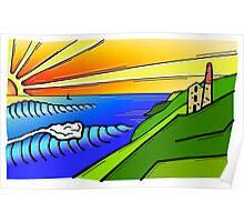 Kernow Coast Poster