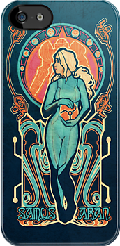 Samus Nouveau - IPHONE CASE by MeganLara