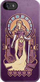 Zelda Nouveau IPHONE CASE by MeganLara