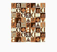 """I'm """"A"""" Pattern two (orange) Unisex T-Shirt"""