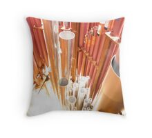 Pipes of Light Throw Pillow
