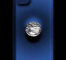 Mercury - iPhone Case - Blue by BlueShift