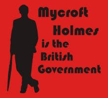 Mycroft Holmes, British Government (Black) by Anglofile