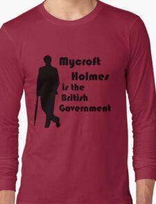 Mycroft Holmes, British Government (Black) T-Shirt