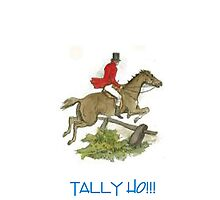 Tally Ho!!! by Catherine Hamilton-Veal  ©