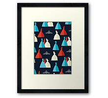 The Selection pattern Framed Print