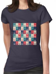 Graphic Design Womens Fitted T-Shirt