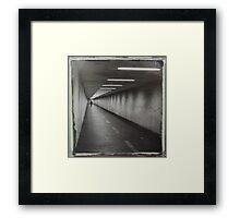 The passage Framed Print