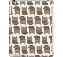 Topsy-Turvy Brown Owls iPad Case/Skin