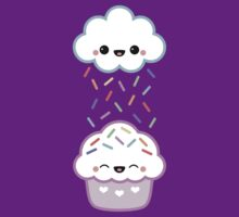 Cloud Peeing on Cupcake by sugarhai