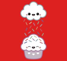 Cloud Peeing on Cupcake Kids Tee