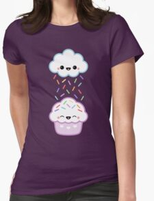 Cloud Peeing on Cupcake T-Shirt